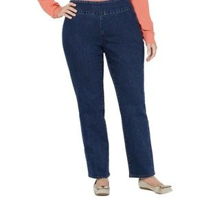 New Charter Club Waist Smoothing 20  Pull on Denim